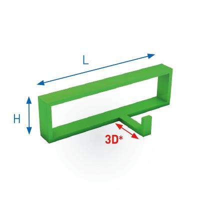 the coatinc company poedercoaten van dreidimensionale frames