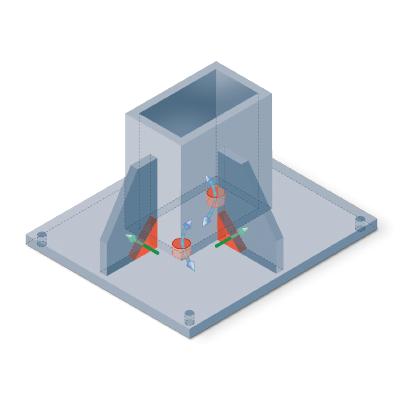 the coatinc company processes galvanizing the coatinc company base plate area