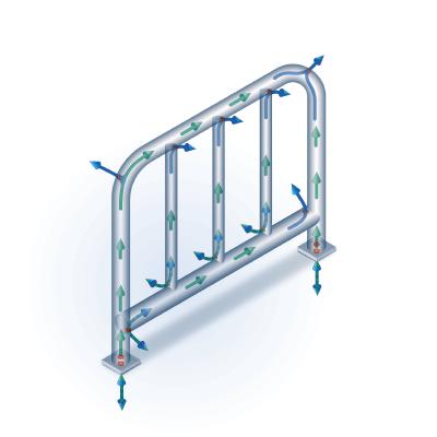 the coatinc company processes galvanizing the coatinc company bores visible